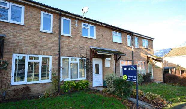 2 Bedrooms Terraced House for sale in Tiverton Way, Frimley, Camberley