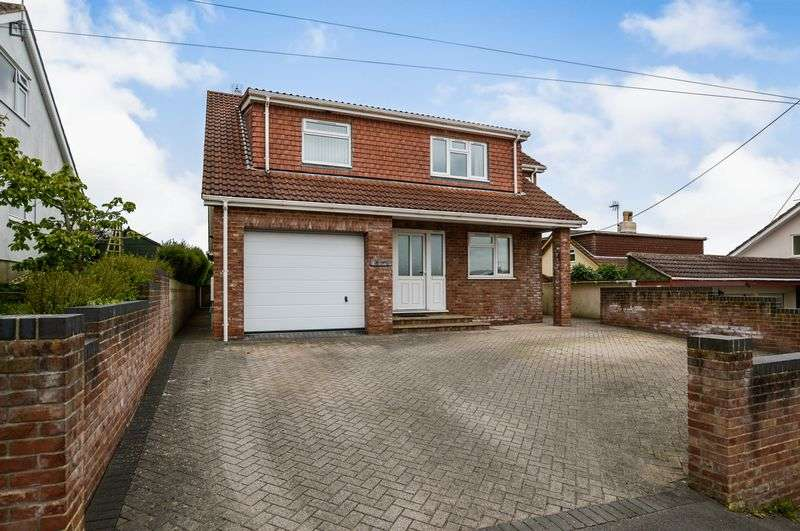 4 Bedrooms Detached House for sale in Bleadon Hill, Bleadon