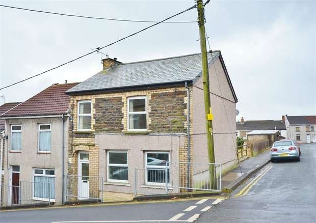 2 Bedrooms End Of Terrace House for sale in Church Street, BARGOED, Caerphilly