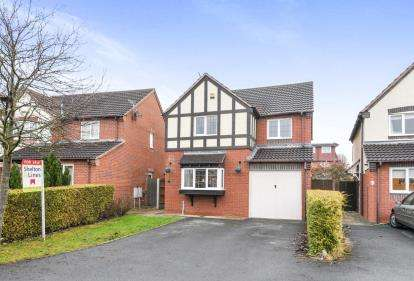 4 Bedrooms Detached House for sale in Lundy Row, Worcester, Worcestershire, .