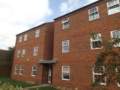 2 Bedrooms Flat for sale in Bodill Gardens, Hucknall, Nottingham