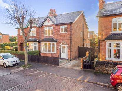 3 Bedrooms Semi Detached House for sale in Carnarvon Road, West Bridgford, Nottingham