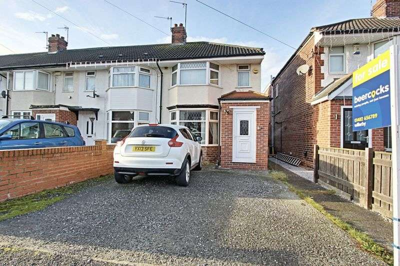 3 Bedrooms Terraced House for sale in Woodlands Road, Hull