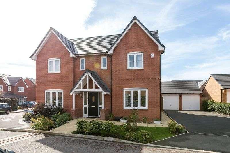 4 Bedrooms Detached House for sale in Marlborough Close, Buckshaw Village, PR7 7HA
