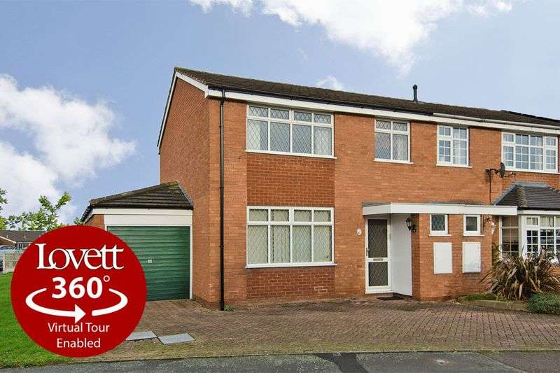 3 Bedrooms Semi Detached House for sale in Meadowbrook Road, Lichfield