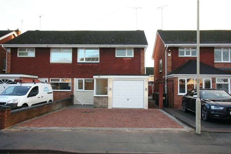 3 Bedrooms Semi Detached House for sale in KINGSWINFORD, Cherry Tree Road