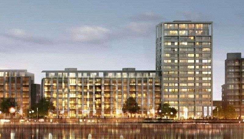 3 Bedrooms Flat for sale in Maritime Building , Royal Wharf, Royal Docks, London