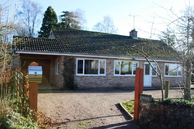 3 Bedrooms Detached Bungalow for sale in Rockbeare Hill