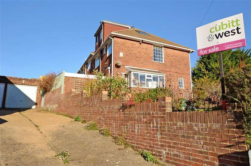 4 Bedrooms Semi Detached House for sale in Dale Crescent, Patcham, Brighton, East Sussex