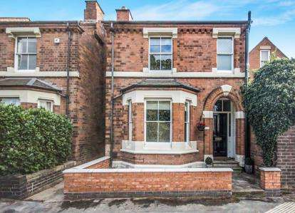 3 Bedrooms Detached House for sale in Rugby Road, Leamington Spa, Warwickshire, England