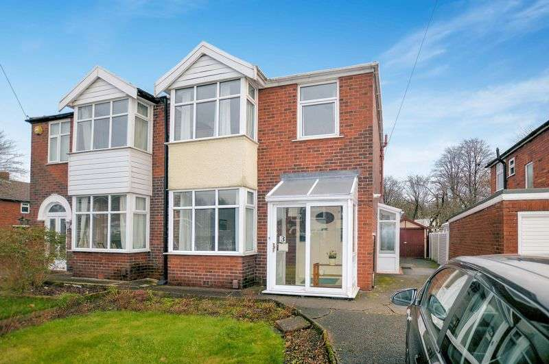 3 Bedrooms Semi Detached House for sale in Fletcher Fold Road, Bury