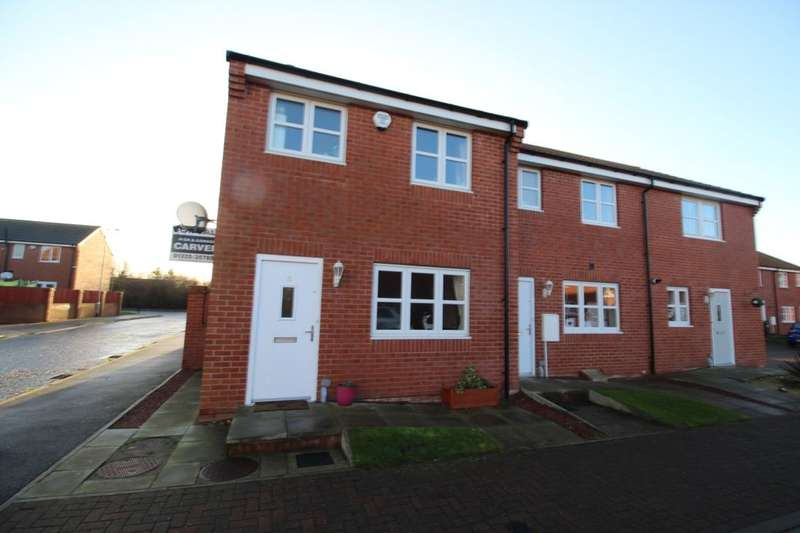 2 Bedrooms Semi Detached House for sale in Foss Court, Darlington, DL2