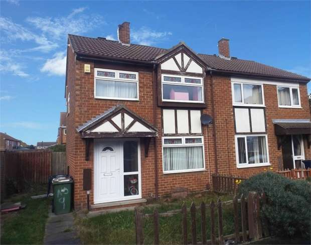 3 Bedrooms Semi Detached House for sale in Windsor Court, Grangetown, Middlesbrough, North Yorkshire