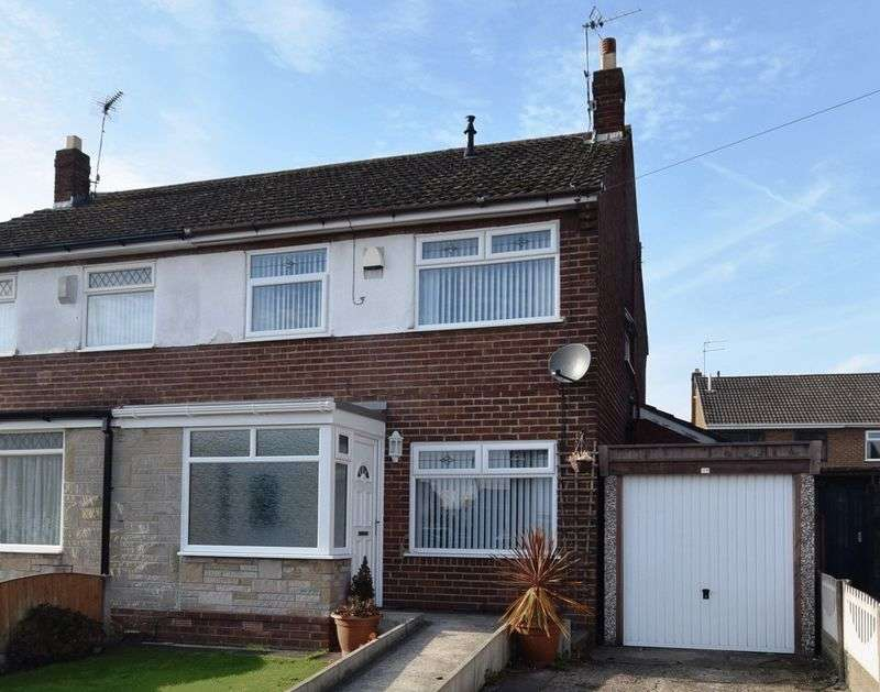 3 Bedrooms Semi Detached House for sale in Lakeside Close, WIDNES