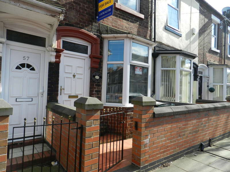 2 Bedrooms Terraced House for sale in Campbell Road Stoke