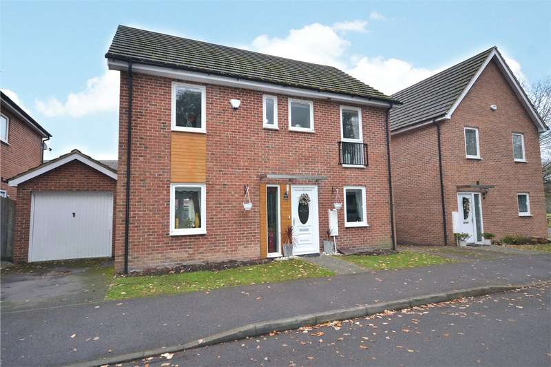 4 Bedrooms Link Detached House for sale in Hastings View, Bracknell, Berkshire, RG12