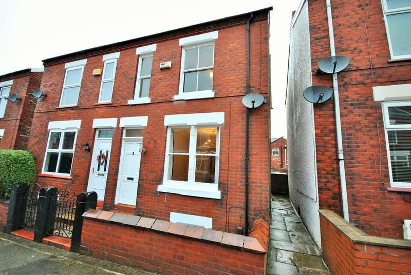 3 Bedrooms Semi Detached House for sale in Toronto Road, Heaviley, Stockport