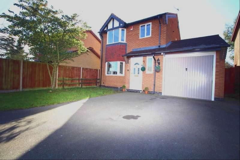 3 Bedrooms Detached House for sale in The Poplars, Earl Shilton, Leicester, LE9