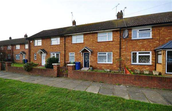 3 Bedrooms Terraced House for sale in Waterson Road, Chadwell St Mary