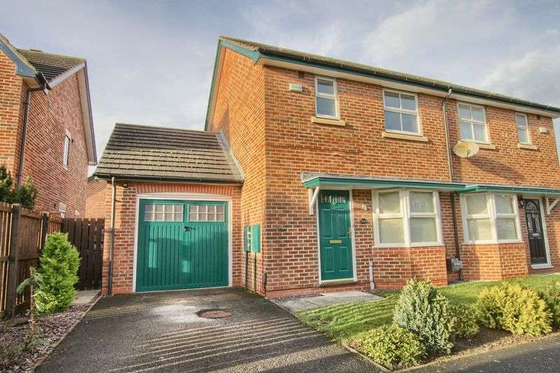 3 Bedrooms Semi Detached House for sale in Nevern Crescent, Ingleby Barwick