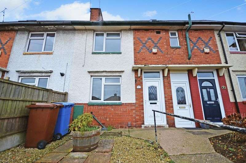2 Bedrooms Terraced House for sale in 97 Chesterfield Road North, Mansfield, NG19 7JB