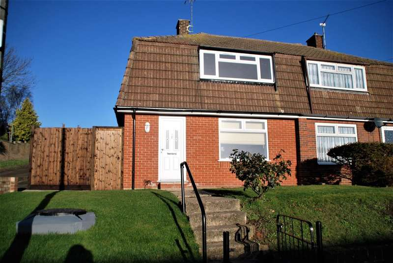 2 Bedrooms Semi Detached House for sale in MARLEY ROAD, HOO ST. WERBURGH