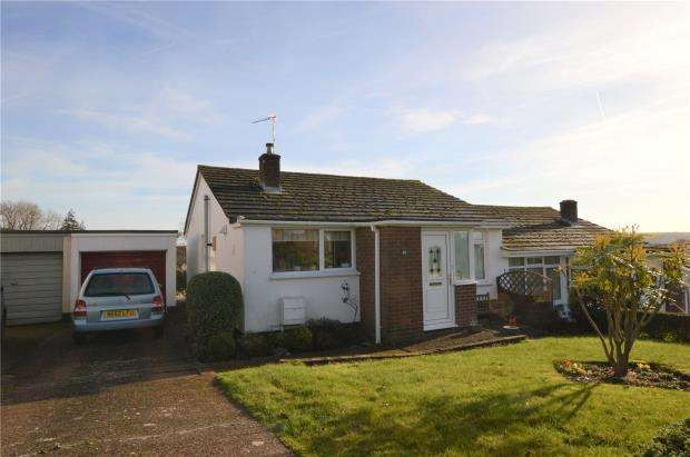 2 Bedrooms Semi Detached Bungalow for sale in Victoria Crescent, Crediton, Devon