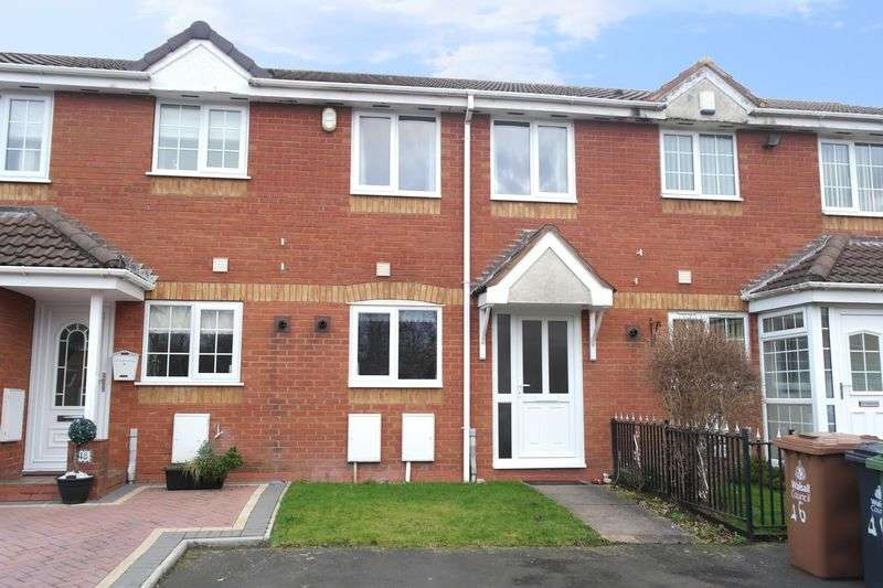 2 Bedrooms Terraced House for sale in Basalt Close, Walsall