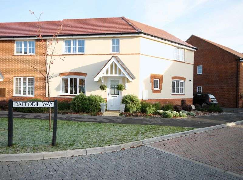 3 Bedrooms Semi Detached House for sale in Daffodil Way, Havant