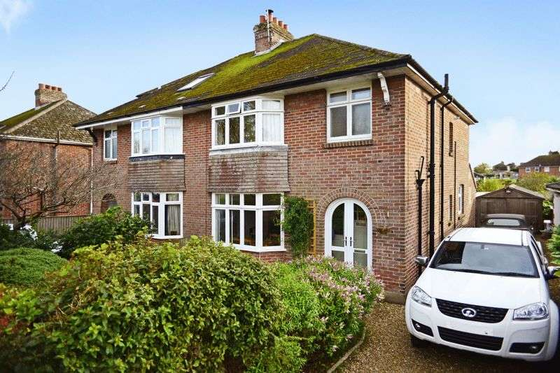 3 Bedrooms Semi Detached House for sale in Damers Road, Dorchester, DT1