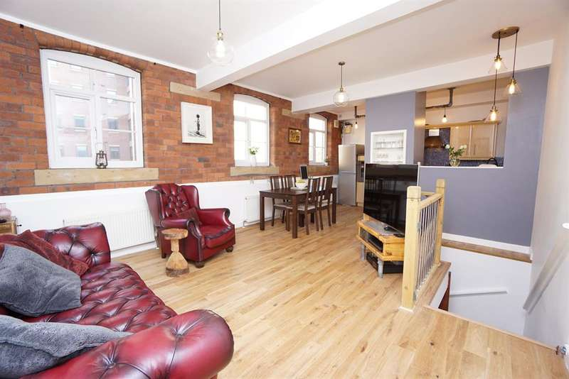 4 Bedrooms Flat for sale in Borough Mews, Bedford Street, Sheffield, S6 3BT