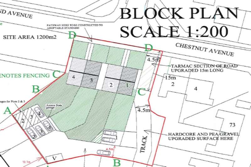 Land Commercial for sale in Plot Of Land Chestnut Avenue, Armthorpe, Doncaster, DN3