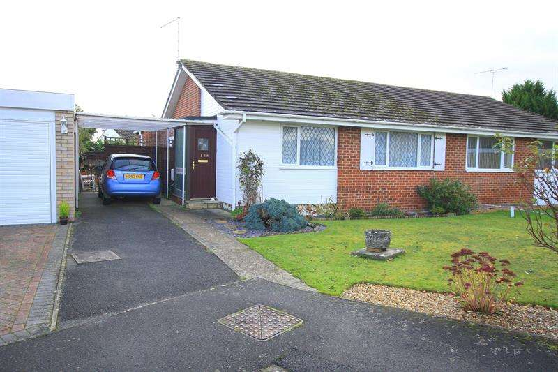 3 Bedrooms Semi Detached Bungalow for sale in Uplands Road, West Moors, Ferndown