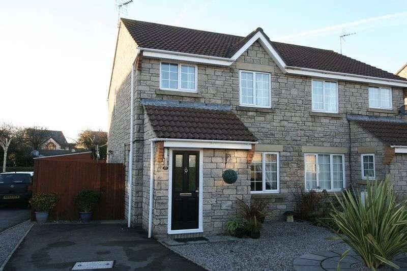 3 Bedrooms Semi Detached House for sale in Caer Worgan, Llantwit Major
