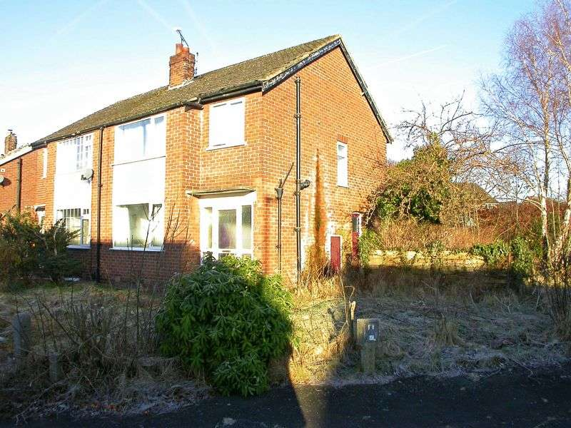 3 Bedrooms Semi Detached House for sale in POYNTON (BROOKSIDE AVENUE)