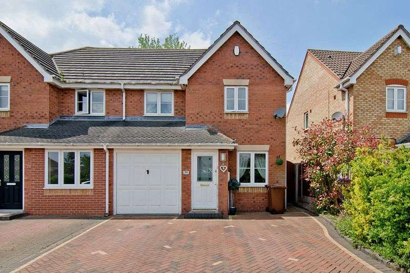 3 Bedrooms Semi Detached House for sale in Red Lion Avenue, Norton Canes, Cannock