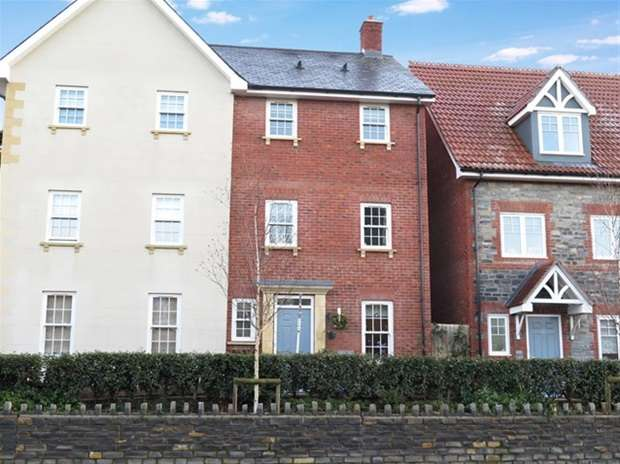 5 Bedrooms Semi Detached House for sale in Glastonbury Road, Wells