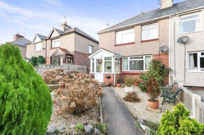 2 Bedrooms Semi Detached House for sale in Nant Ddu, St. George, Abergele, Conwy, LL22