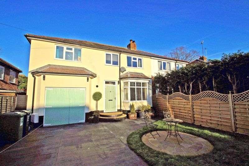 4 Bedrooms Semi Detached House for sale in Jubilee Avenue, Headless Cross. Redditch
