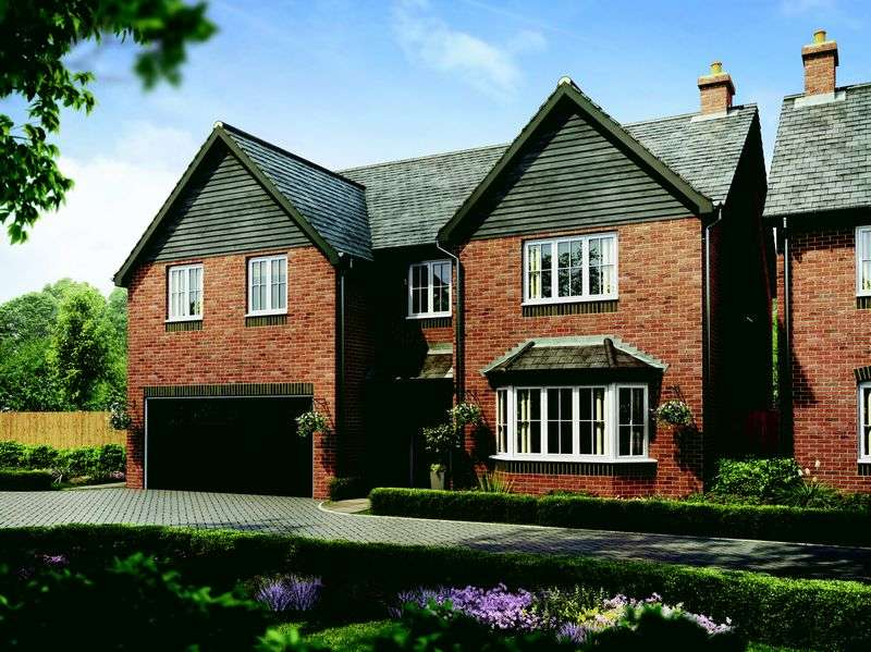 5 Bedrooms Detached House for sale in Plot 67 The Knightsbridge, Barley Fields, Uttoxeter