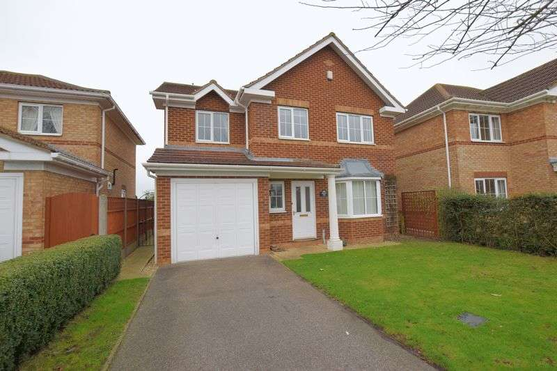 4 Bedrooms Detached House for sale in Larch Avenue, Nettleham, Lincoln