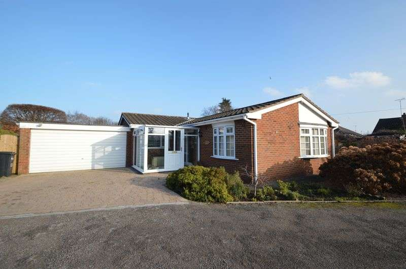 3 Bedrooms Detached Bungalow for sale in Bromfield Close, Mold