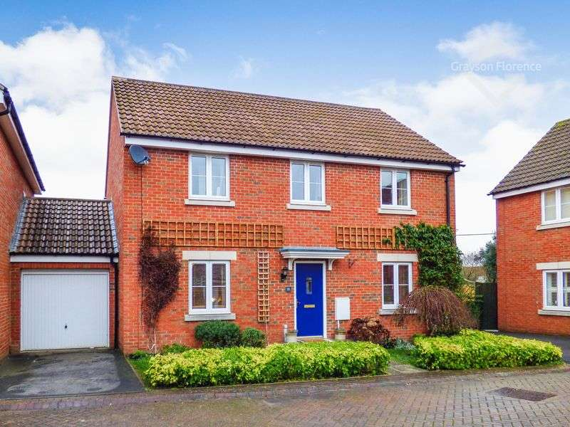 4 Bedrooms Detached House for sale in Thestfield Drive, Trowbridge