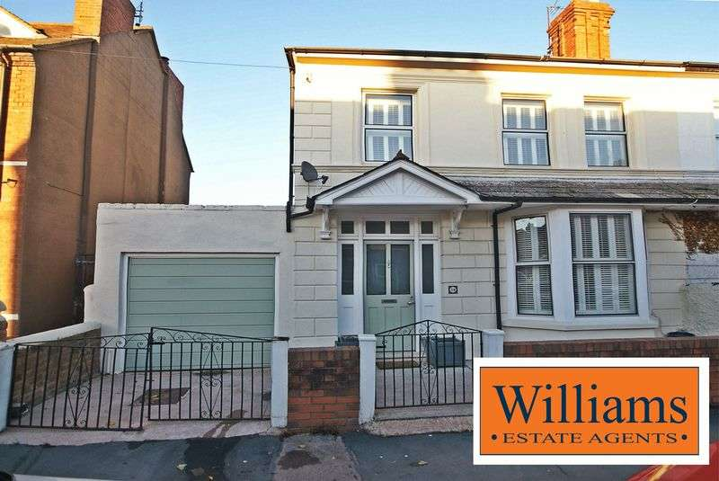 5 Bedrooms Semi Detached House for sale in Chandos Street, Hereford