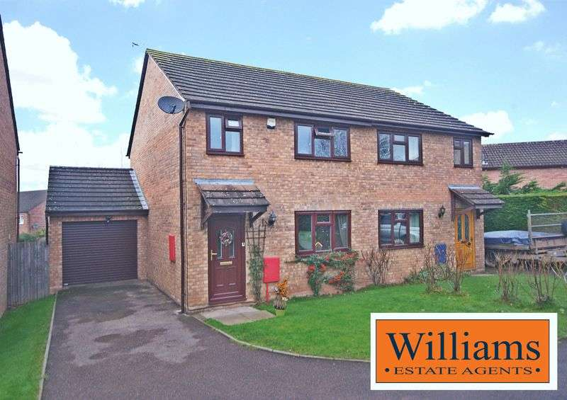 3 Bedrooms Semi Detached House for sale in Chancel View, Hereford