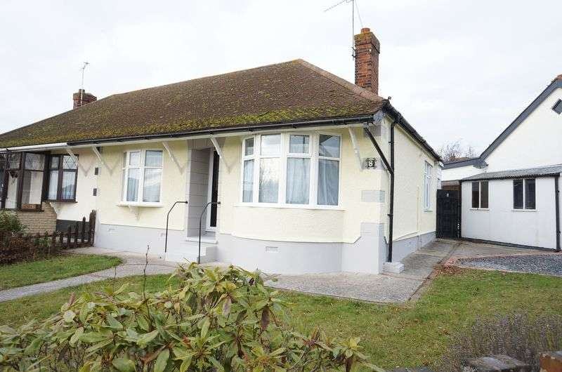 2 Bedrooms Semi Detached Bungalow for sale in Watlington Road, South Benfleet