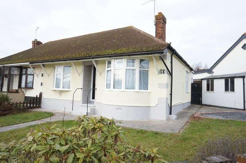2 Bedrooms Semi Detached Bungalow for sale in Watlington Road, South Benfleet