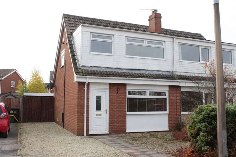 3 Bedrooms Semi Detached House for sale in Kirkhead, Preston, Lancashire, PR4