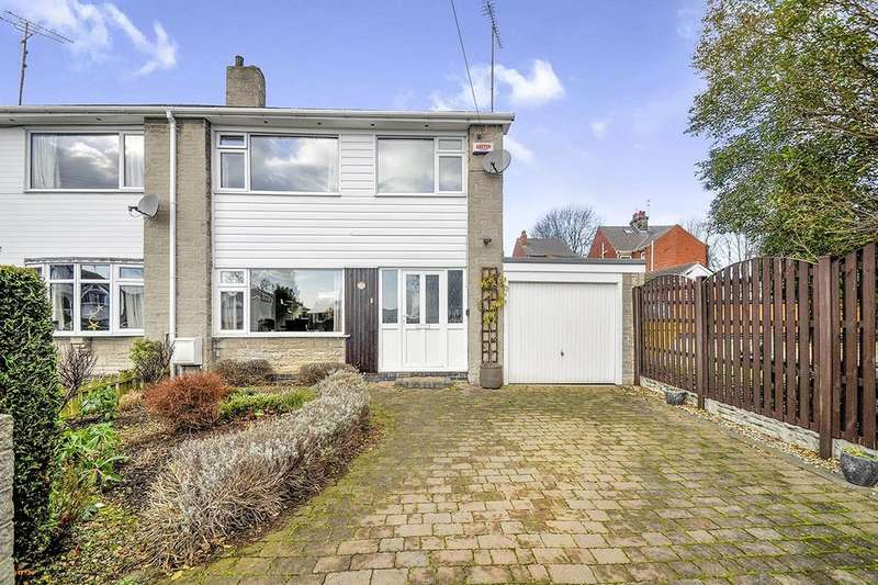 3 Bedrooms Semi Detached House for sale in St. Wandrilles Close, SHEFFIELD, S35