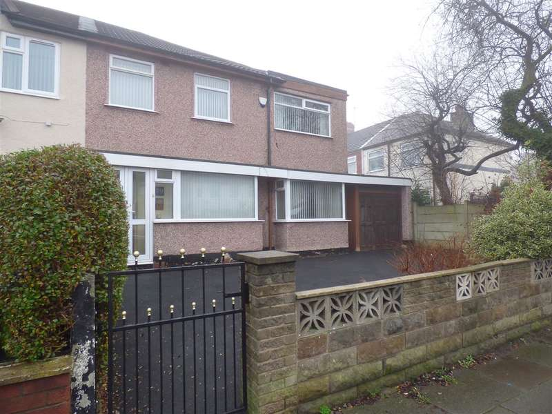 3 Bedrooms Terraced House for sale in Crosswood Crescent, Huyton, Liverpool